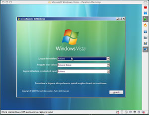 Screenshot Windows Vista