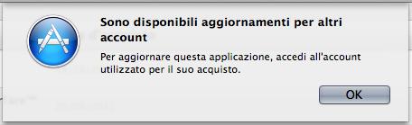 Errore AppStore