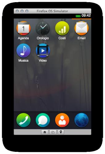Firefox OS Simulator 2